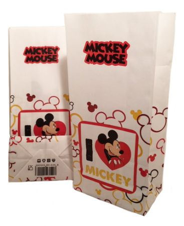 Small Mickey Mouse Popcorn Bag